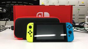 Nintendo switchを買いました。久々にワクワクしたぞ〜!